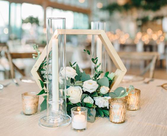 boda 2020 centros de mesa