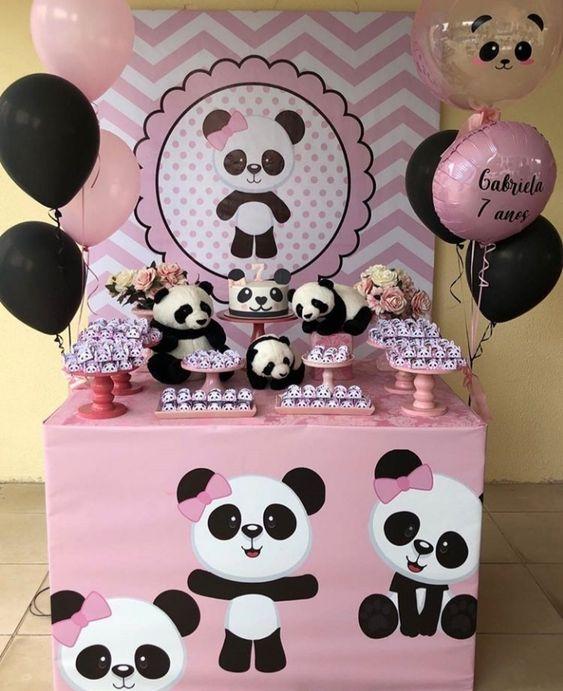 decoracion cumpleaños niña animales