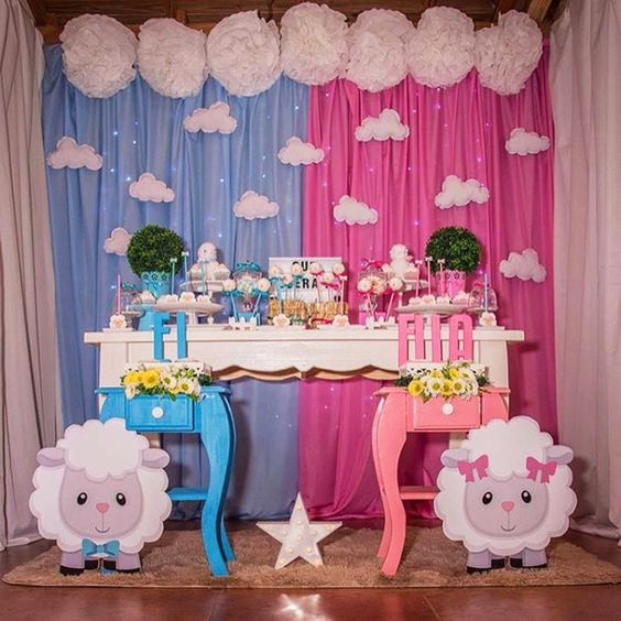 baby shower tematica borregos