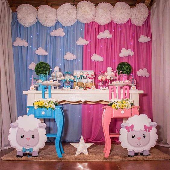 baby shower tematica borregos