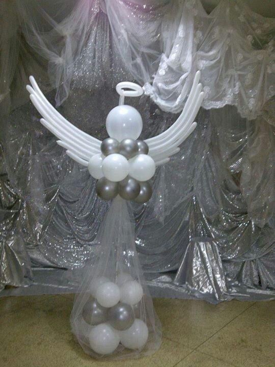 angel decoracion bautizo