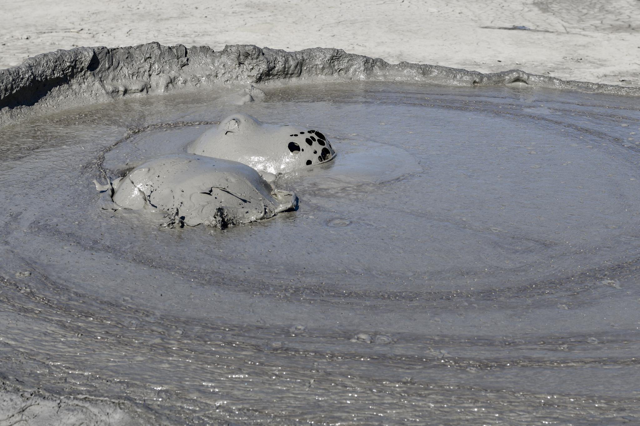 Schlammvulkane in Berca / Rumänien Reisebericht