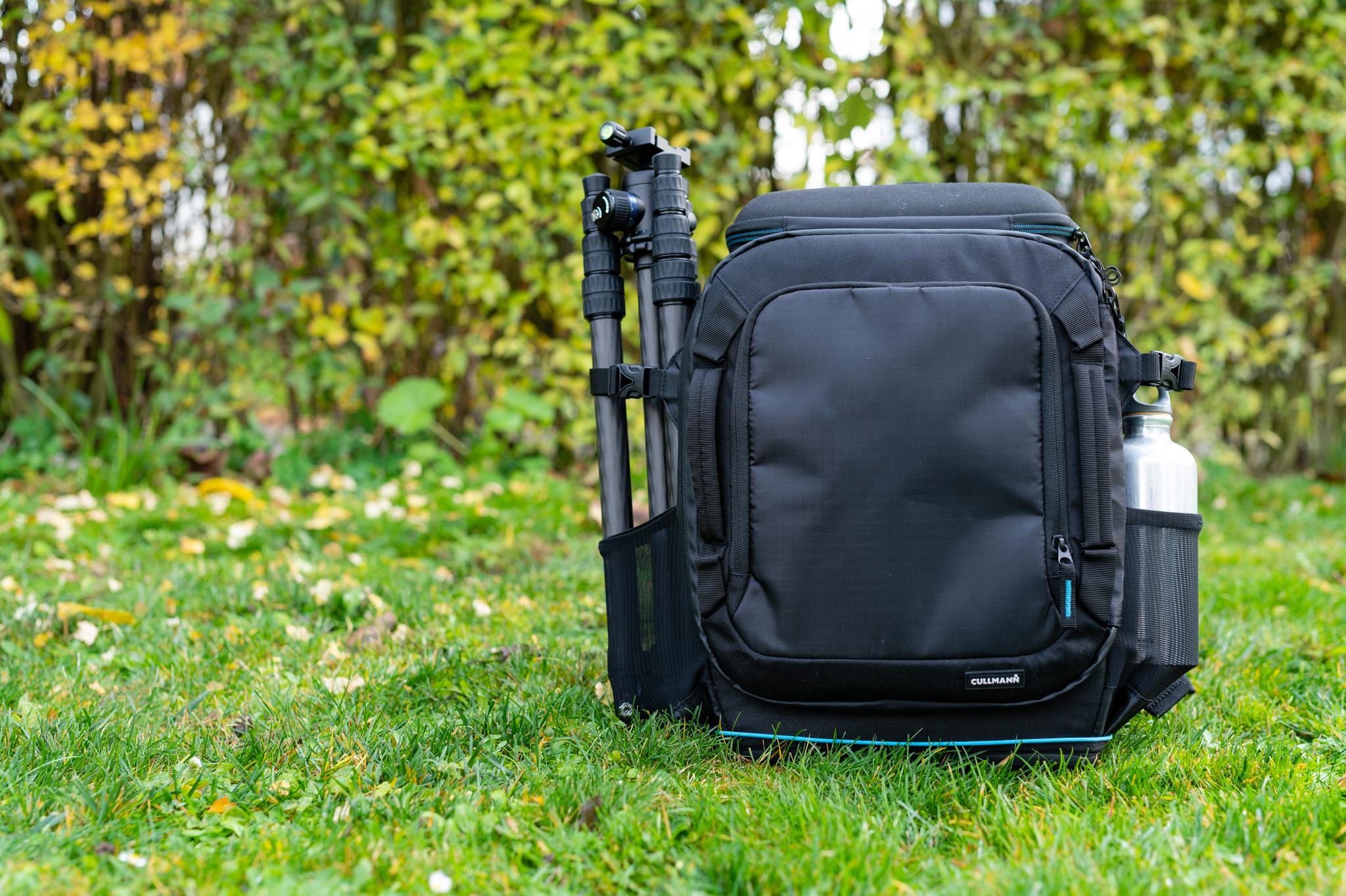 Flexible Seitentaschen für
