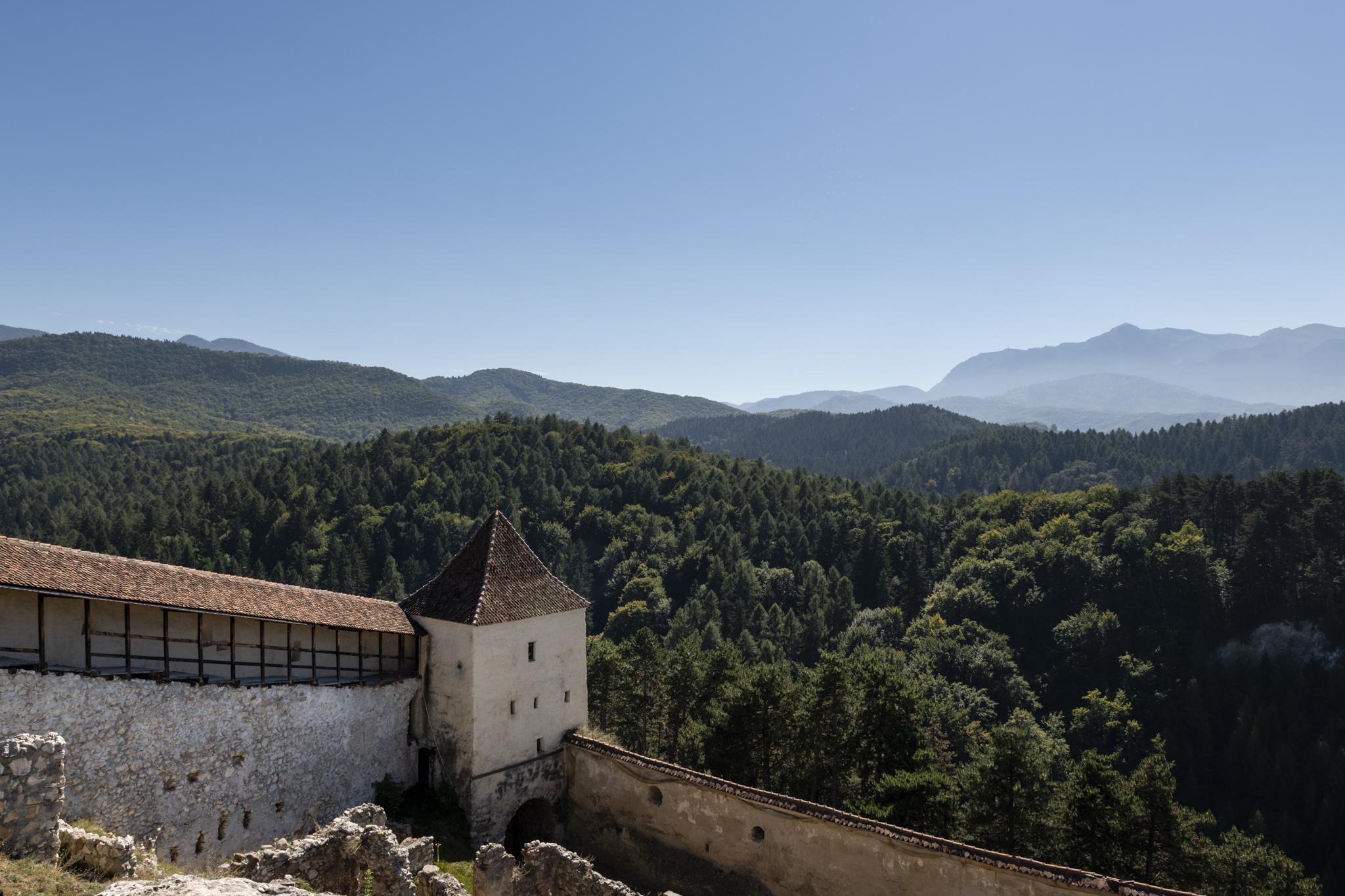 Râşnov / Burg Rosenau / Reisebericht Rumänien