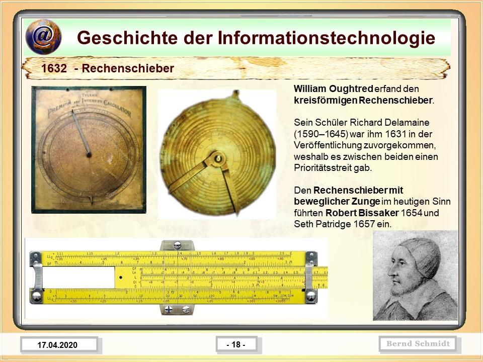 1632  - Rechenschieber
