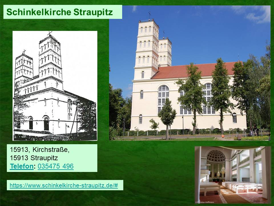 Die Schinkelkirche in Straupitz