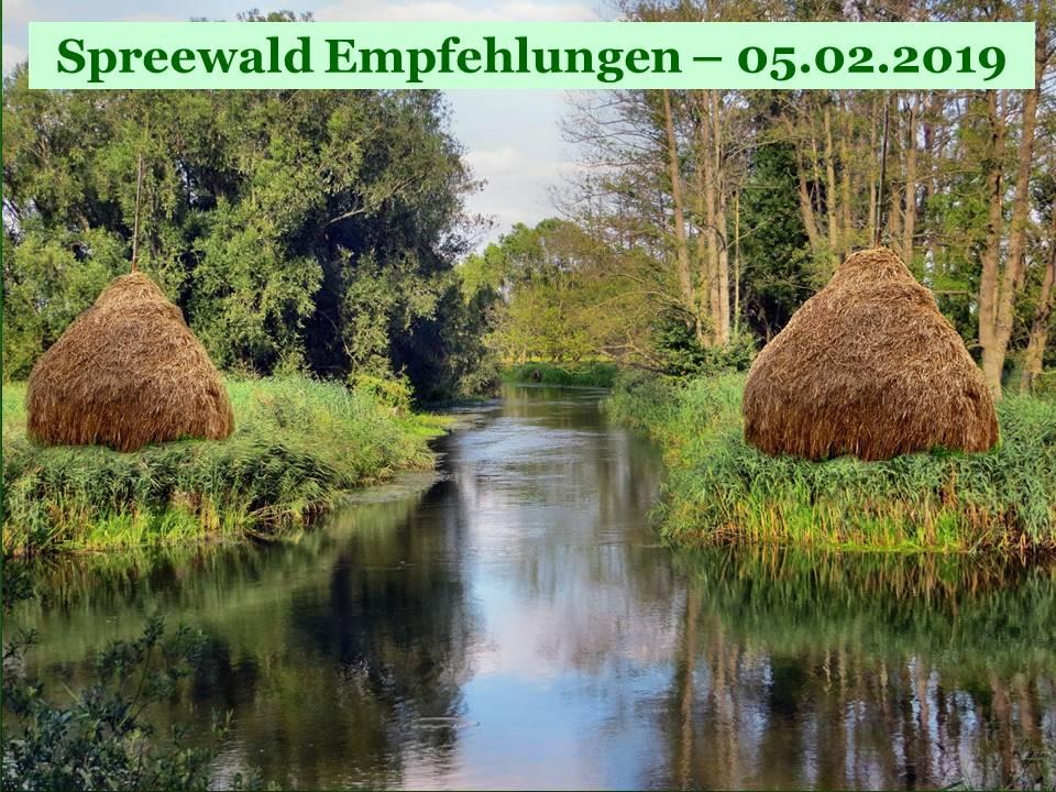 Empfehlungen für Reisen in den Spreewald zum downloaden