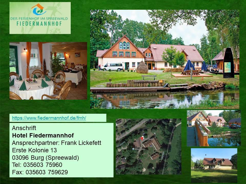 Hotel Fiedermannhof in Burg