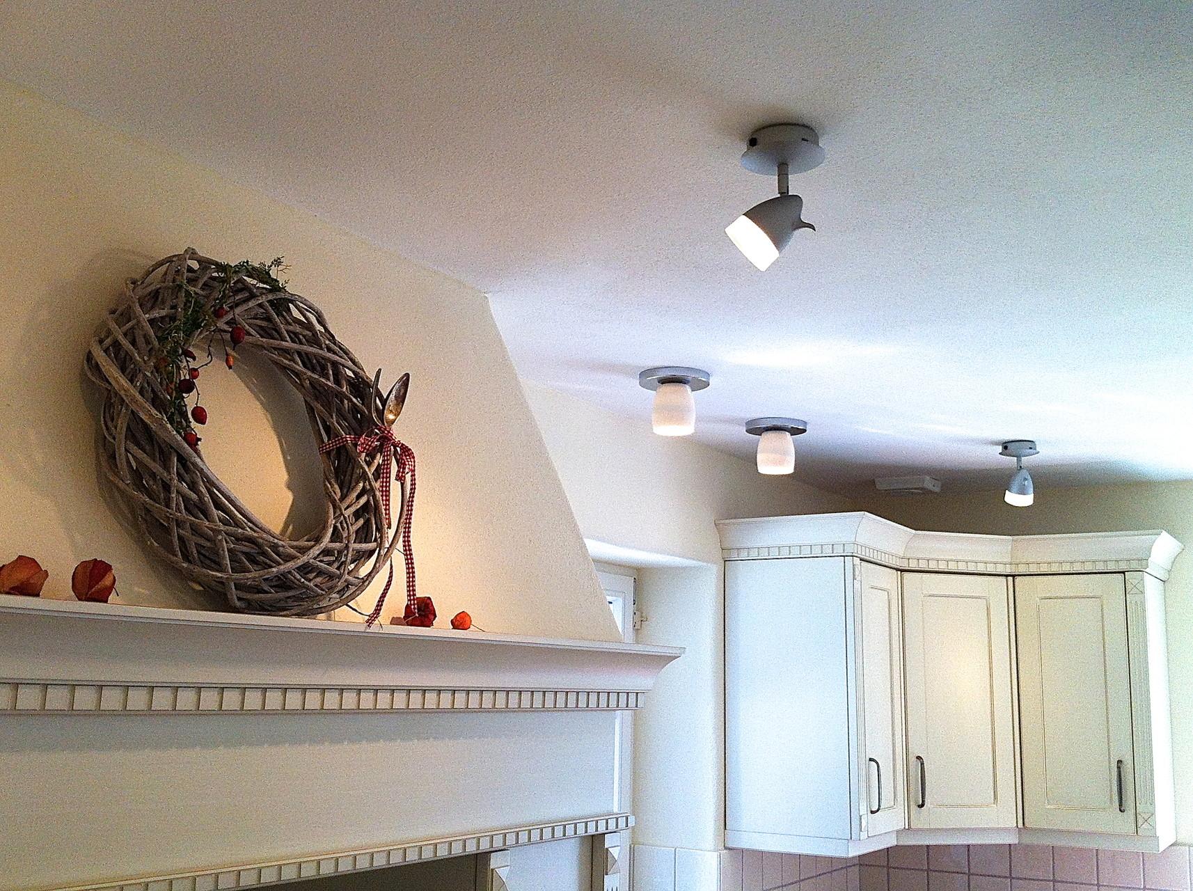 Licht für die schöne Küche.