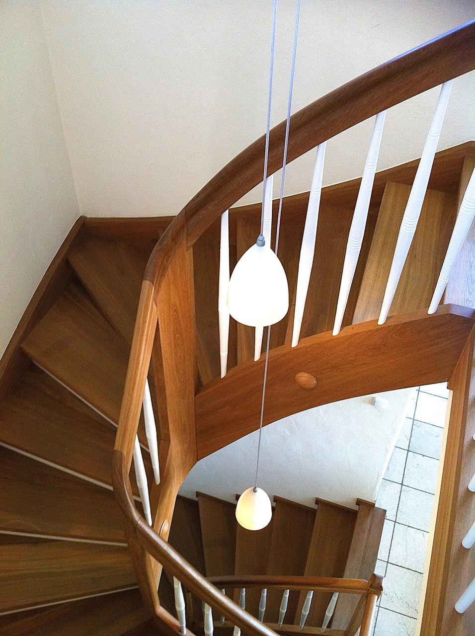 Licht für die schöne Treppe.