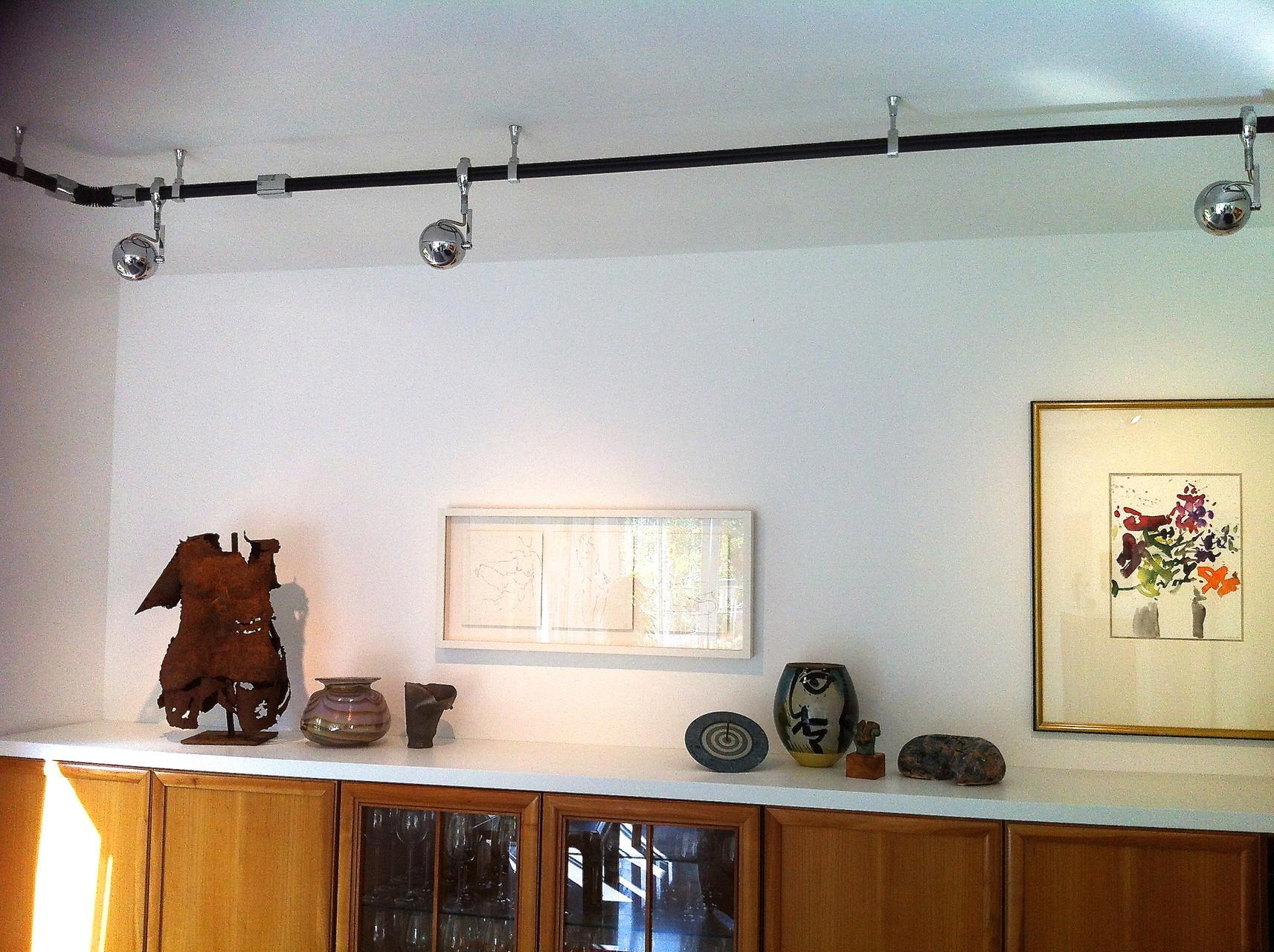 Privathaus Wohnen mit Kunst