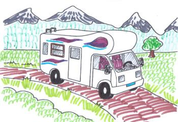 viaggio con camper senza zanzare