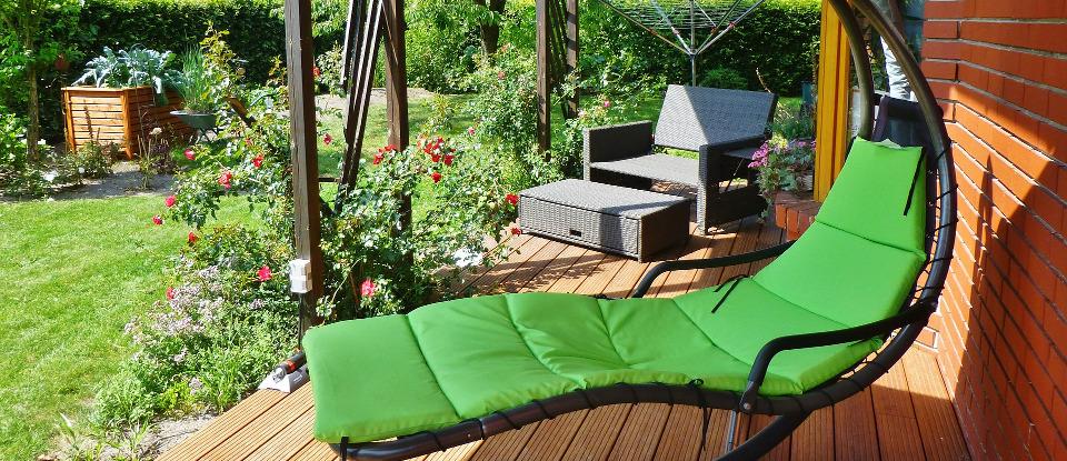 Prendere il sole nel giardino non è più un problema! <br>Sistemi antizanzare di nebulizzazione zhalt.