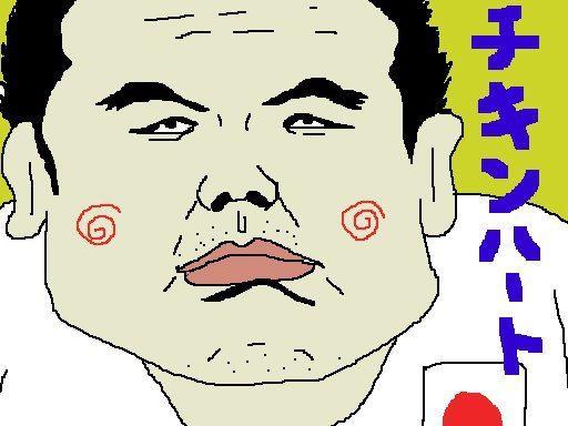男子100キロ級の上川くん、大丈夫かっ! (/ω\) 【制作日/2012年8月3日】
