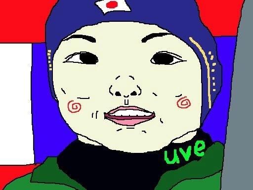 山田花子さんとイモトさんを足して割ったような 可愛いらしい16歳でつね。祝・W杯総合優勝! 【制作日/2013年2月18日】