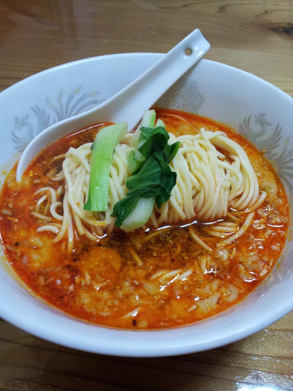 志摩に来たら、きんせいの担々麺でしょ! 【2013年4月20日】