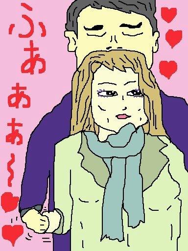 浅草からの帰り、神田から中央線に乗ったおでの横 におった推定、男子24歳、女子28歳のカップル だが、なんかお互いに敬語っぽい話し方をする割に は両手はギュっ、男子は髪の香りを吸ってますた! 付き合いたてホヤホヤ、今が一番の二人かもね♡ 【制作日/2013年3月1日】