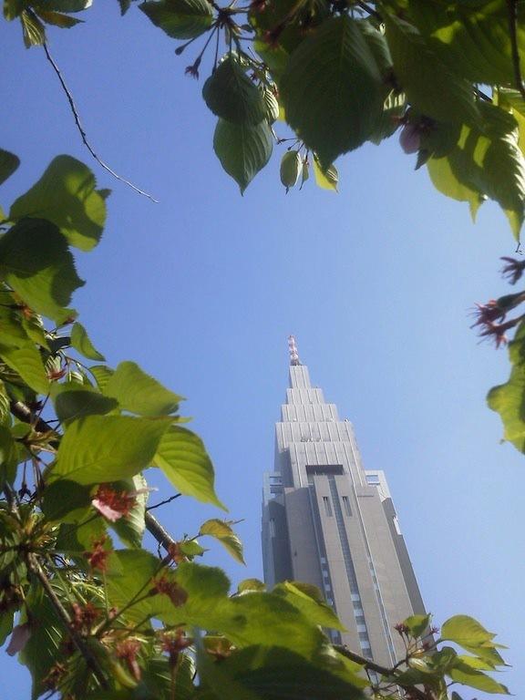 晴天ドコモちゃん。今日はこれから二泊三日の伊勢志摩ツアーなので、金曜日までお休みドコモでつ。 【2012年4月24日】