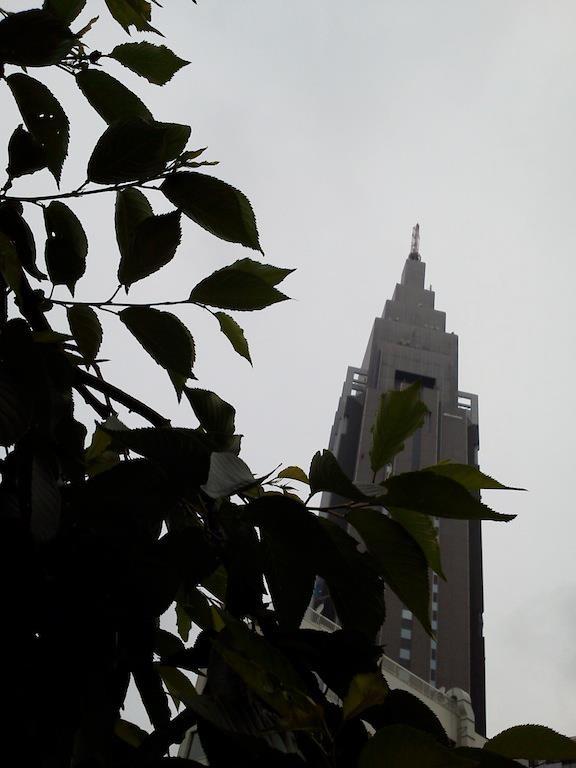 薄曇りドコモくん。今日は一日中、曇りざんすよ。 【2012年5月25日】