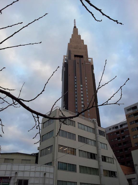あけおめ、ことよろ、初ドコモ…激寒っ!(((;´д`))) 【2013年1月7日】