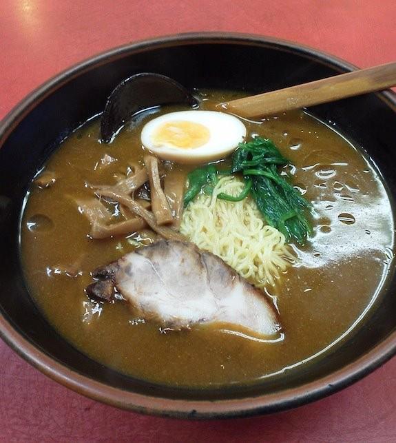 今日も山水楼のカレーラーメン(加里麺)にすたよぉぉぉ~! 【2011年11月16日】