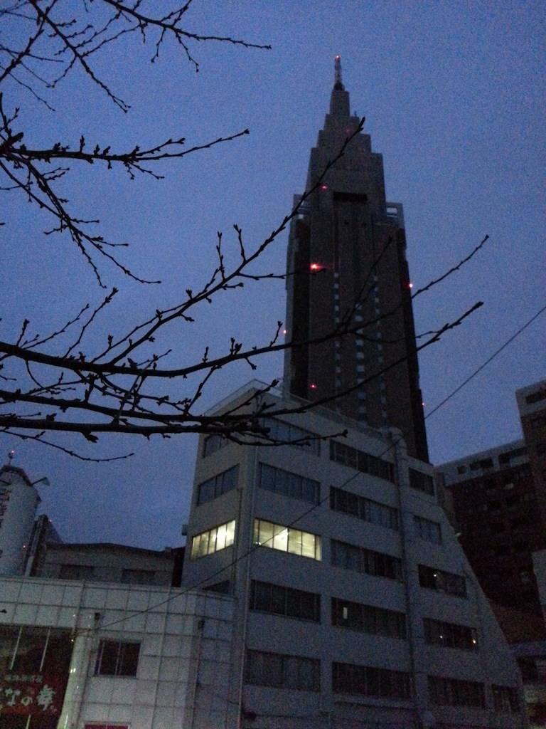 今日は昨日より更に寒く、今季一番らすい。 【2014年12月16日】