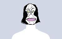 プロフ写真画像なし女性ユーザーの怪人ダダ化。 【制作日/2012年6月13日】