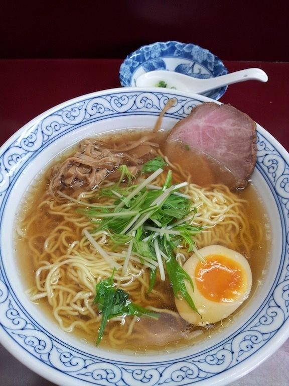 こちらは、ハネウマラーメンの醤油。やはりマルちゃんの正麺レベル! 【2013年2月3日】※閉店
