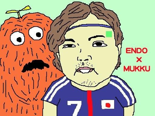 遠藤ぅ〜、後ろぉ〜! 後ろぉ~! 【制作日/2013年3月27日】