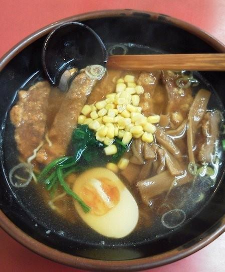 今日の麺は、代々木の山水楼のパーコーメンですよぉ~!! ドモヽ(´Д` ) ( ´Д`)ノドモ 【2011年9月8日】