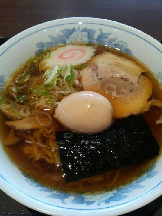 那須高原SAで朝ラ―。味はアメリカの母、ママね。 【2013年8月3日】