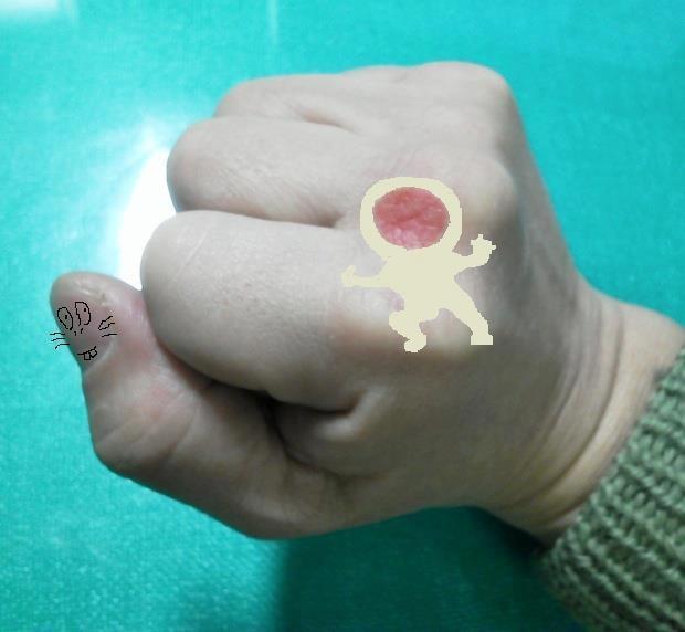 さらにどーでもいい拳にすてみますたよ。けけっ。 【制作日/2012年3月16日】