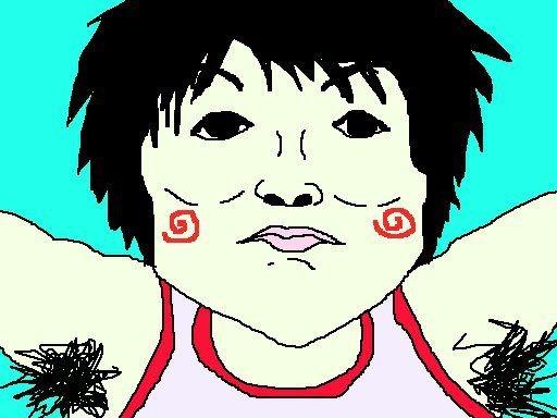 内村航平くん、脇毛の量でも金! 【制作日/2012年8月3日】