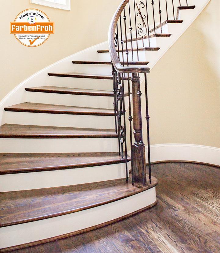 Aus alt macht es neu. Wir belegen Ihre alten Treppe mit neuen Belegen.