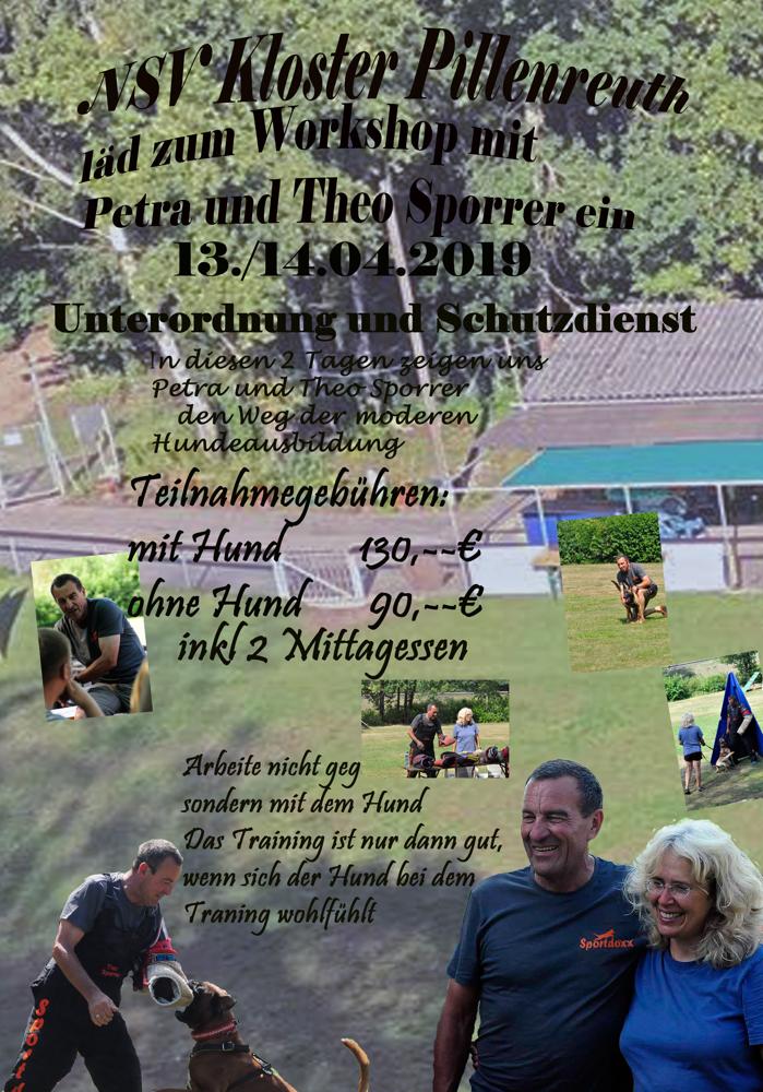 Theo und Petra kommen am 13.04-14.04.2019 nochmal zu uns