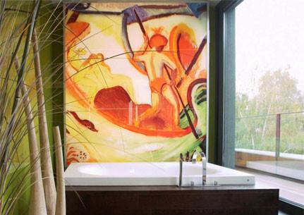 Plattendirektdruck hinter Acrylglas für hochwertige Außendisplays oder individuellen Ladenbau.n