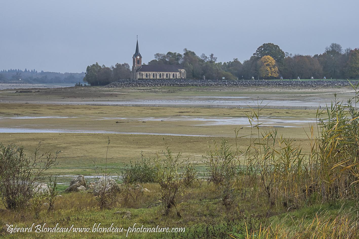 Lac de Der, église de Champaubert