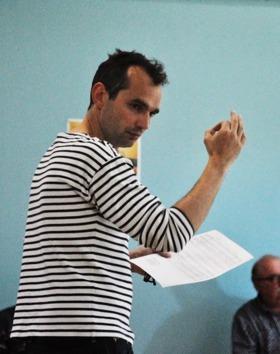 Stage avec Justin Bonnet (du groupe Tête de chien)  : http://www.tetesdechien.com/