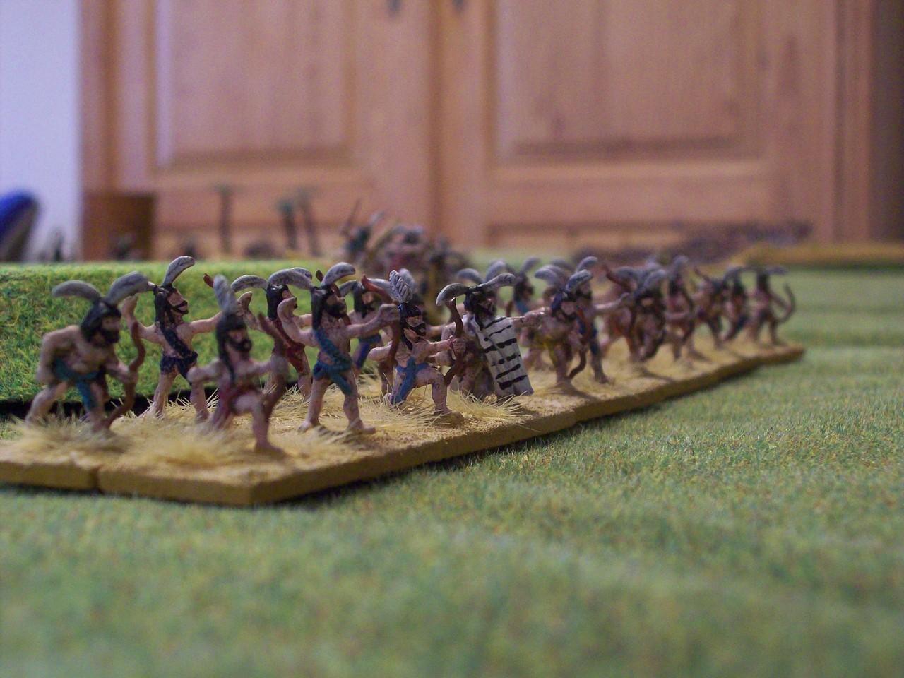 Biblische Armeen waren gut vertreten: Lybier, die als Verbündete der Seevölker  antraten