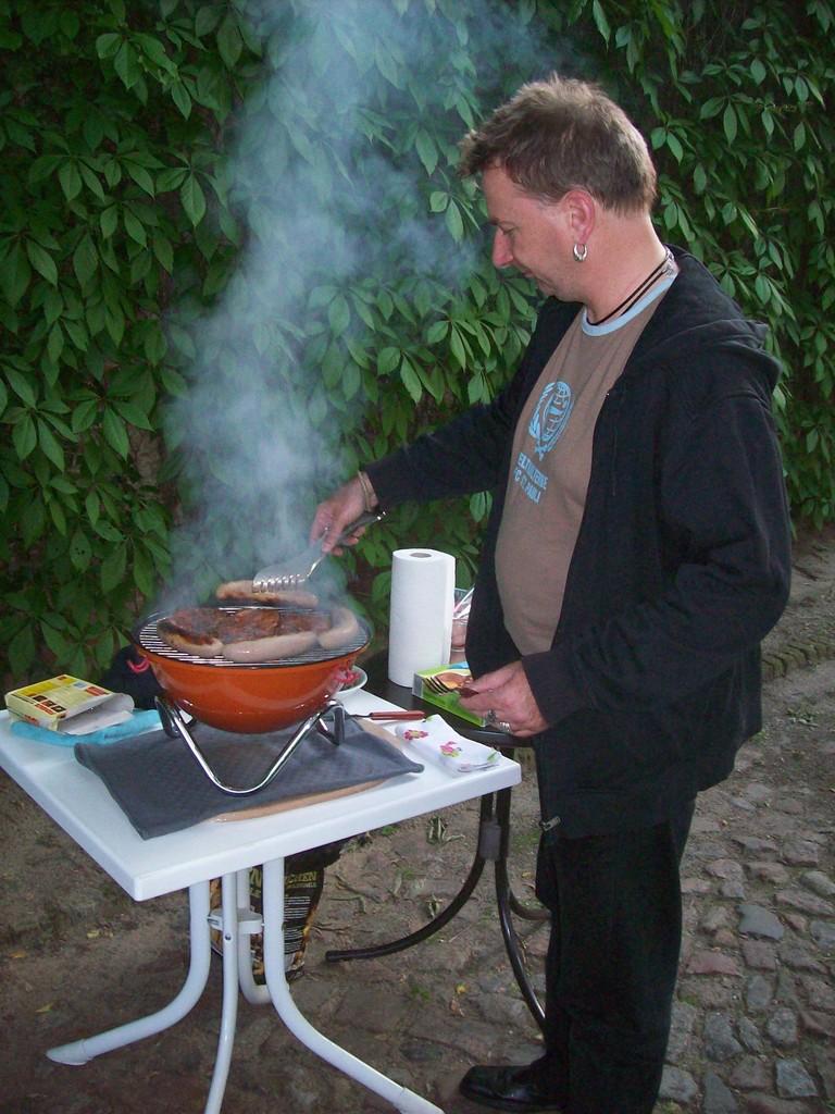 was Frank leckeres grillte