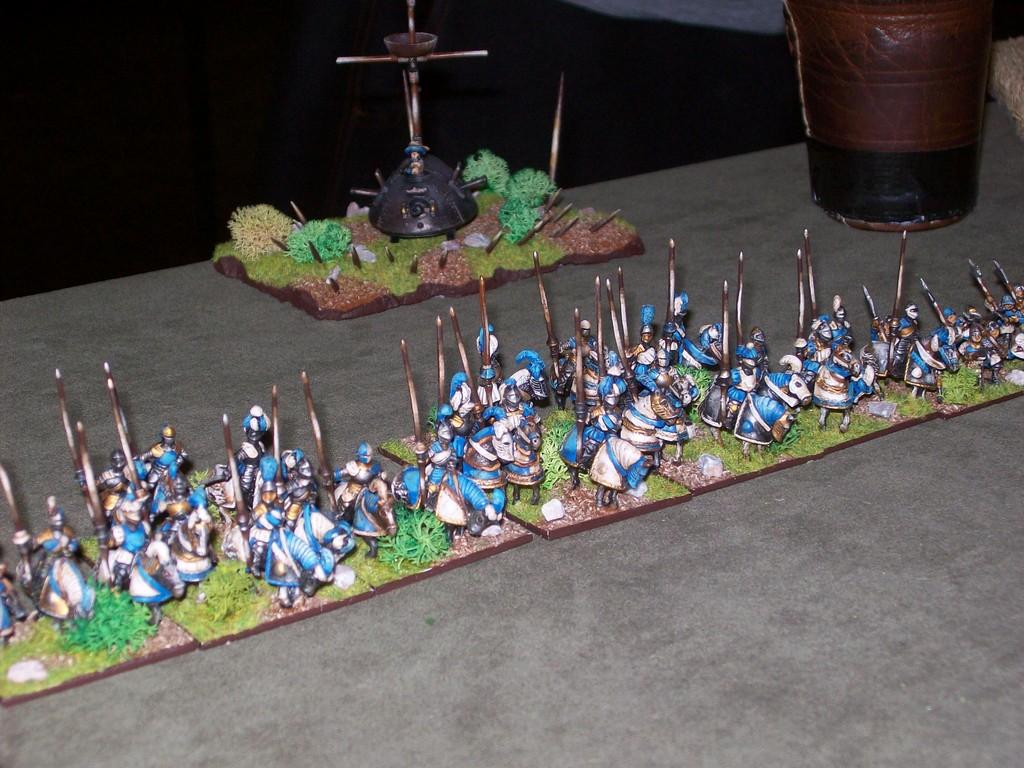 ...und seine Armee.