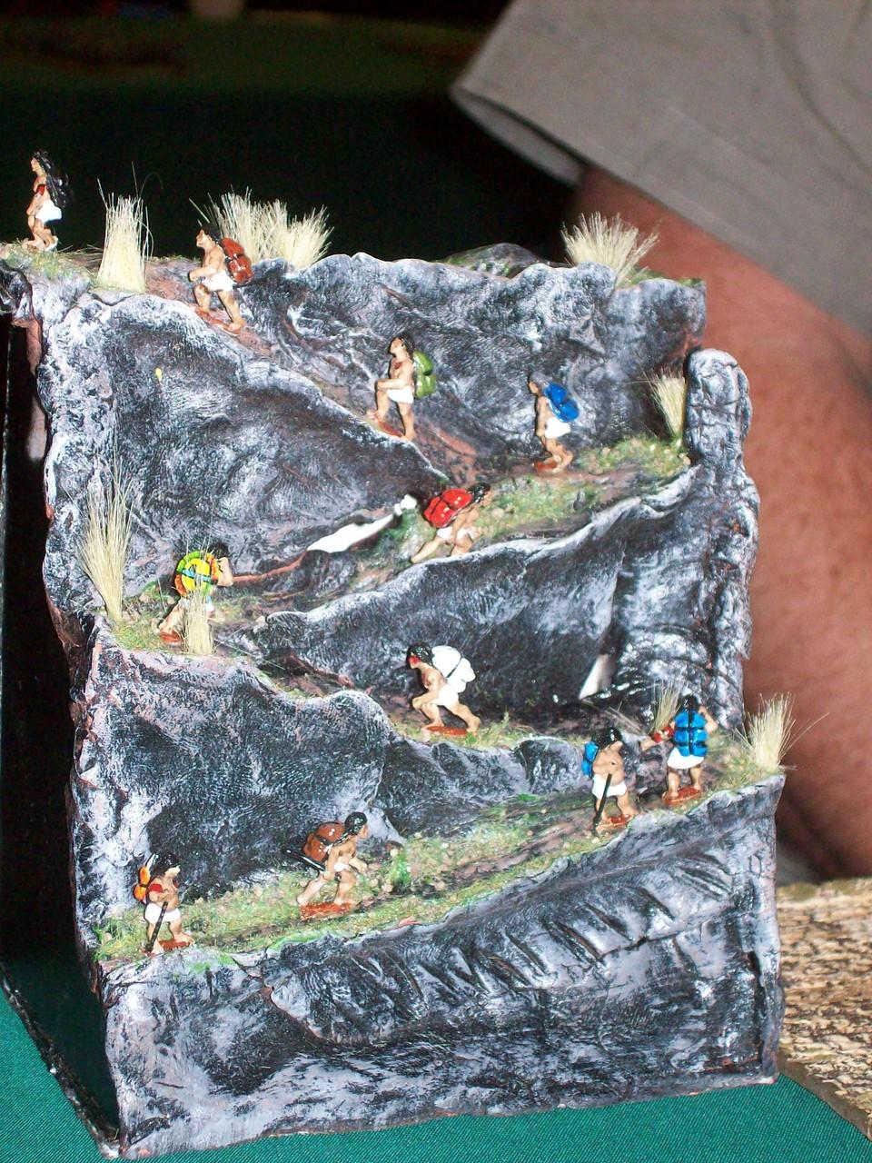die ist das Lager der Maya