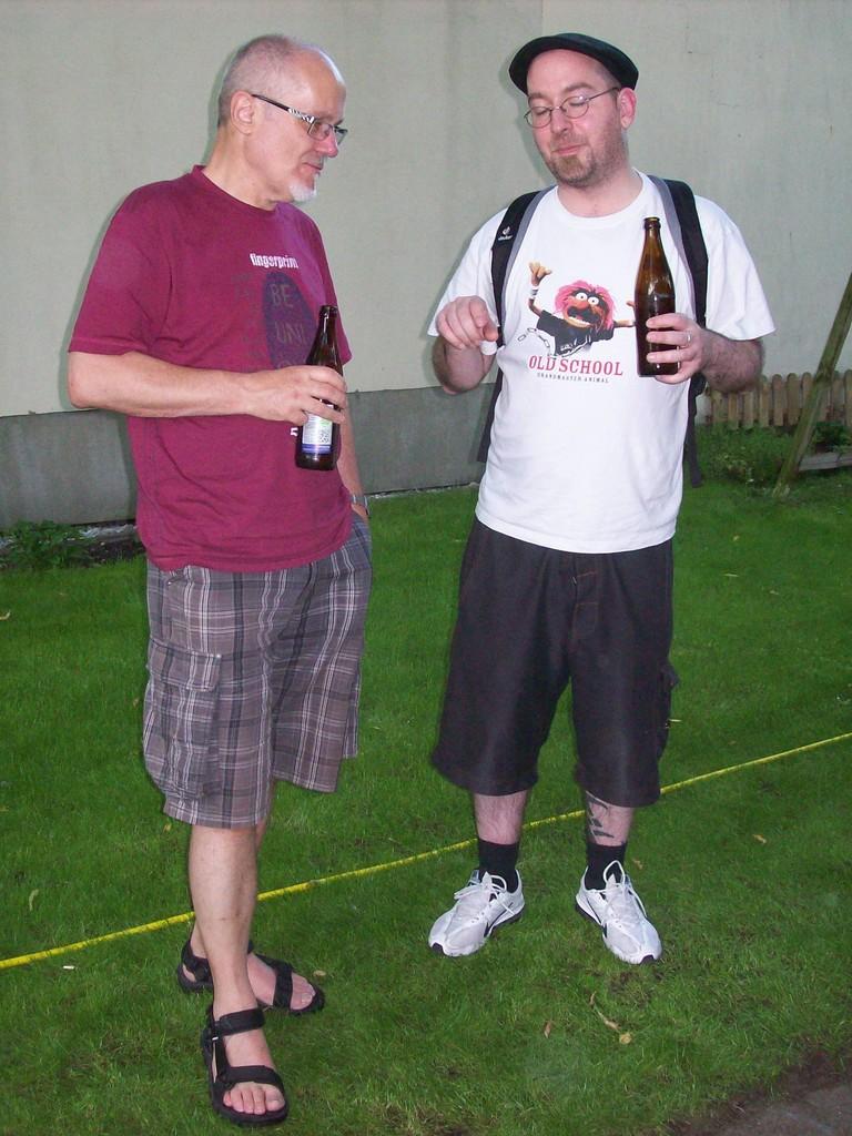 Rob und Andreas im Gespräch