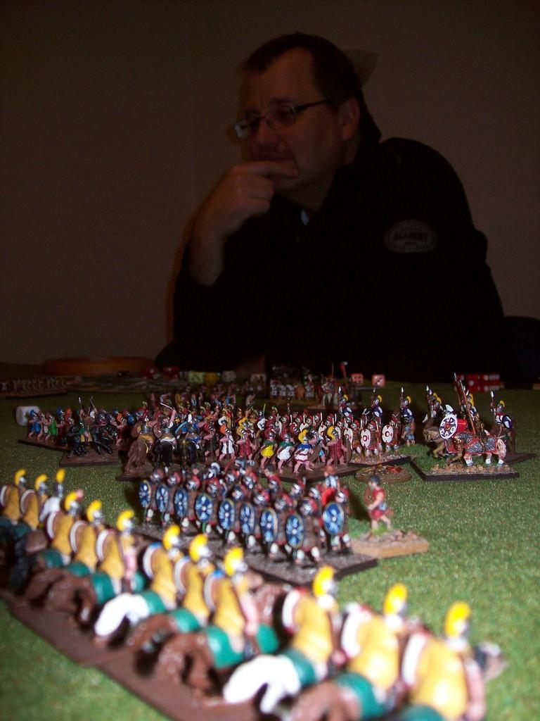 Klaus mit seinen Truppen