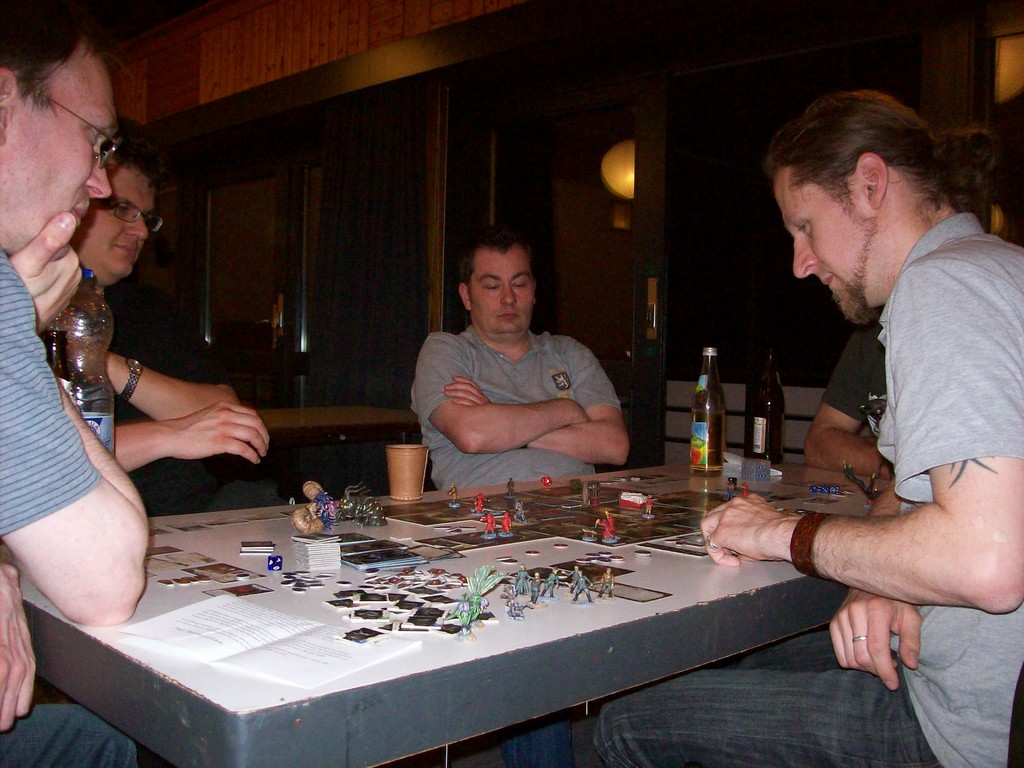 Neben dem FoG- und dem HdR-Turnier wurde viele andere Spiele geboten.