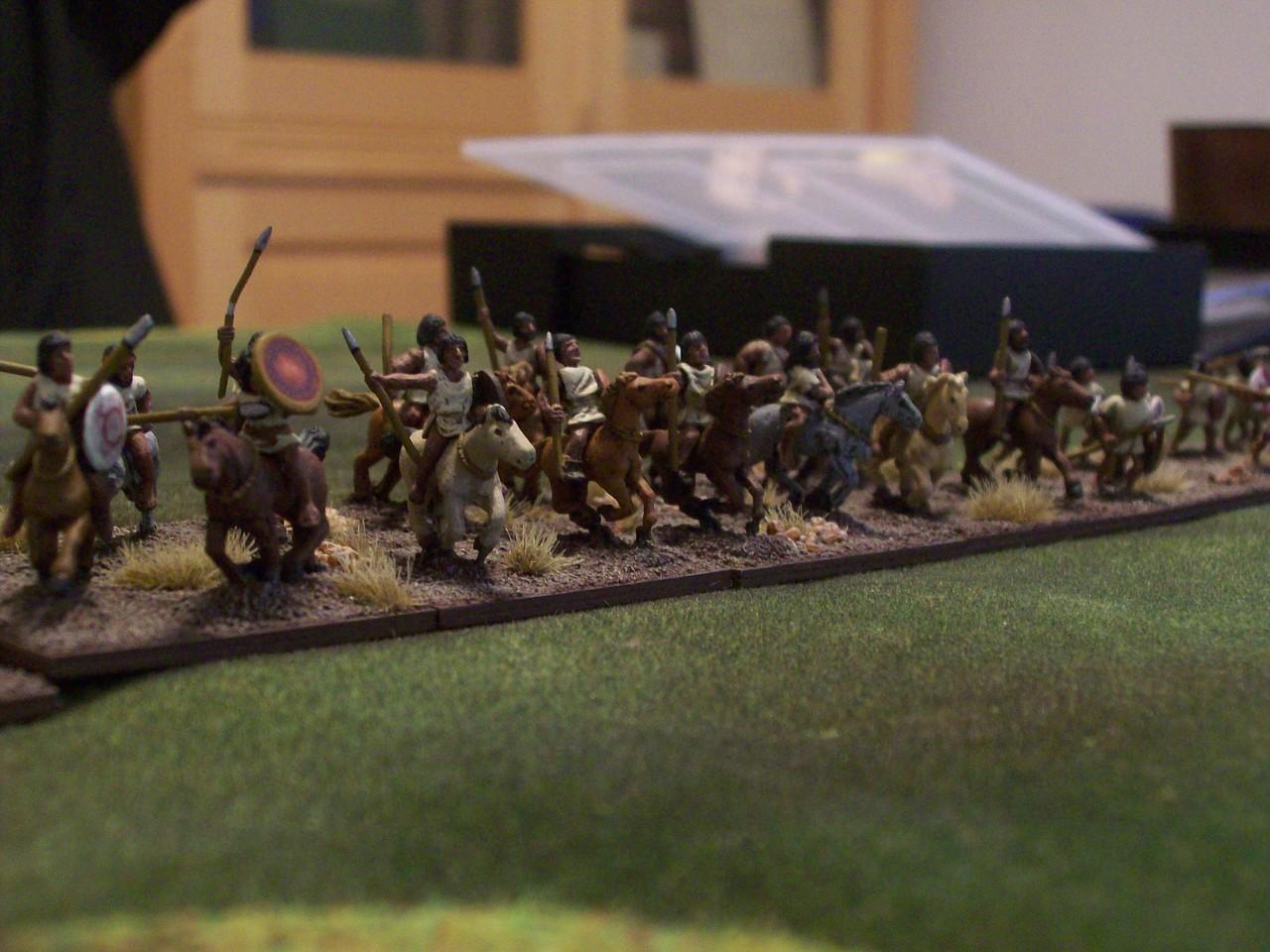 ...und seine Truppen.