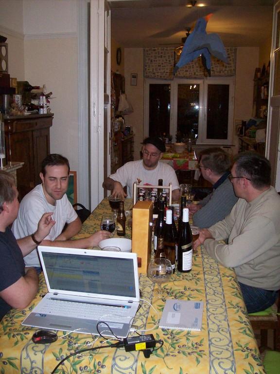 der erste Abend bei Jacques