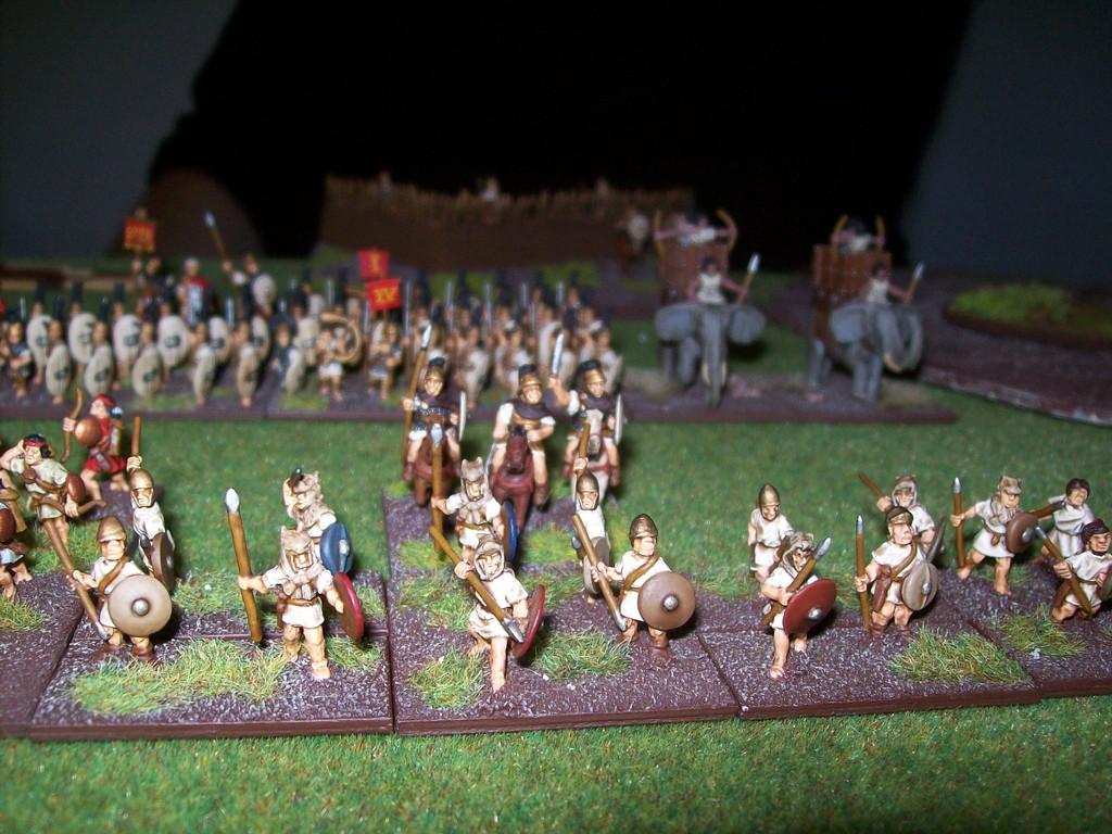 ...und seine Armee