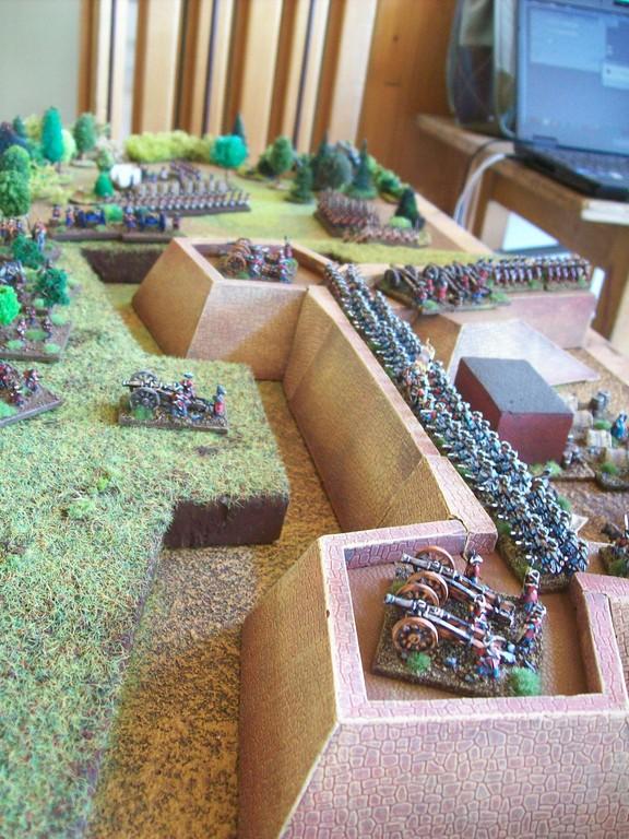 Das Szenario der Kurpfalz-Feldherren