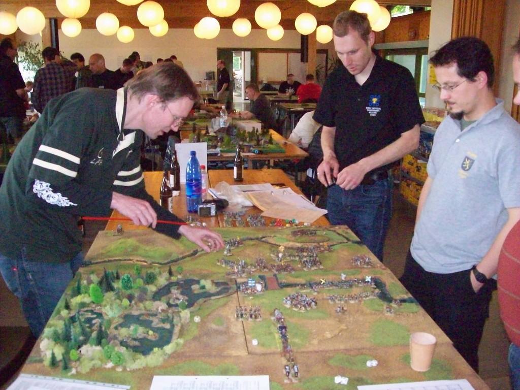 die Schlacht von Stadtlohn - eine Demospiel der Kurpfalz Feldherren